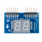 Top view product image of the Pmod SSD: Seven-segment Display.