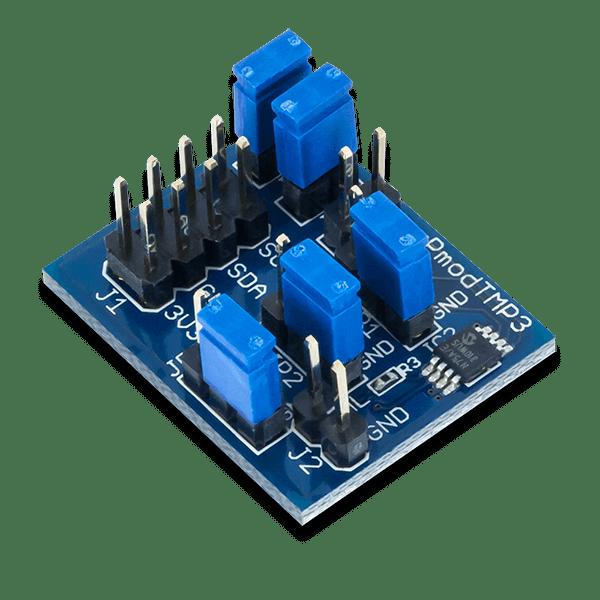 Pmod TMP3 │ 數位溫度感測模組