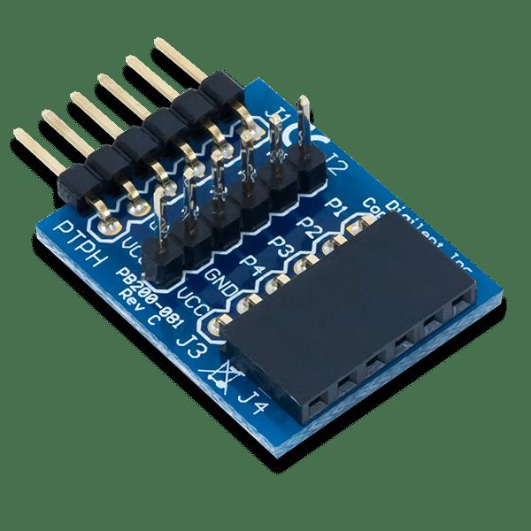 Pmod TPH │ 6 pin 訊號測試模組
