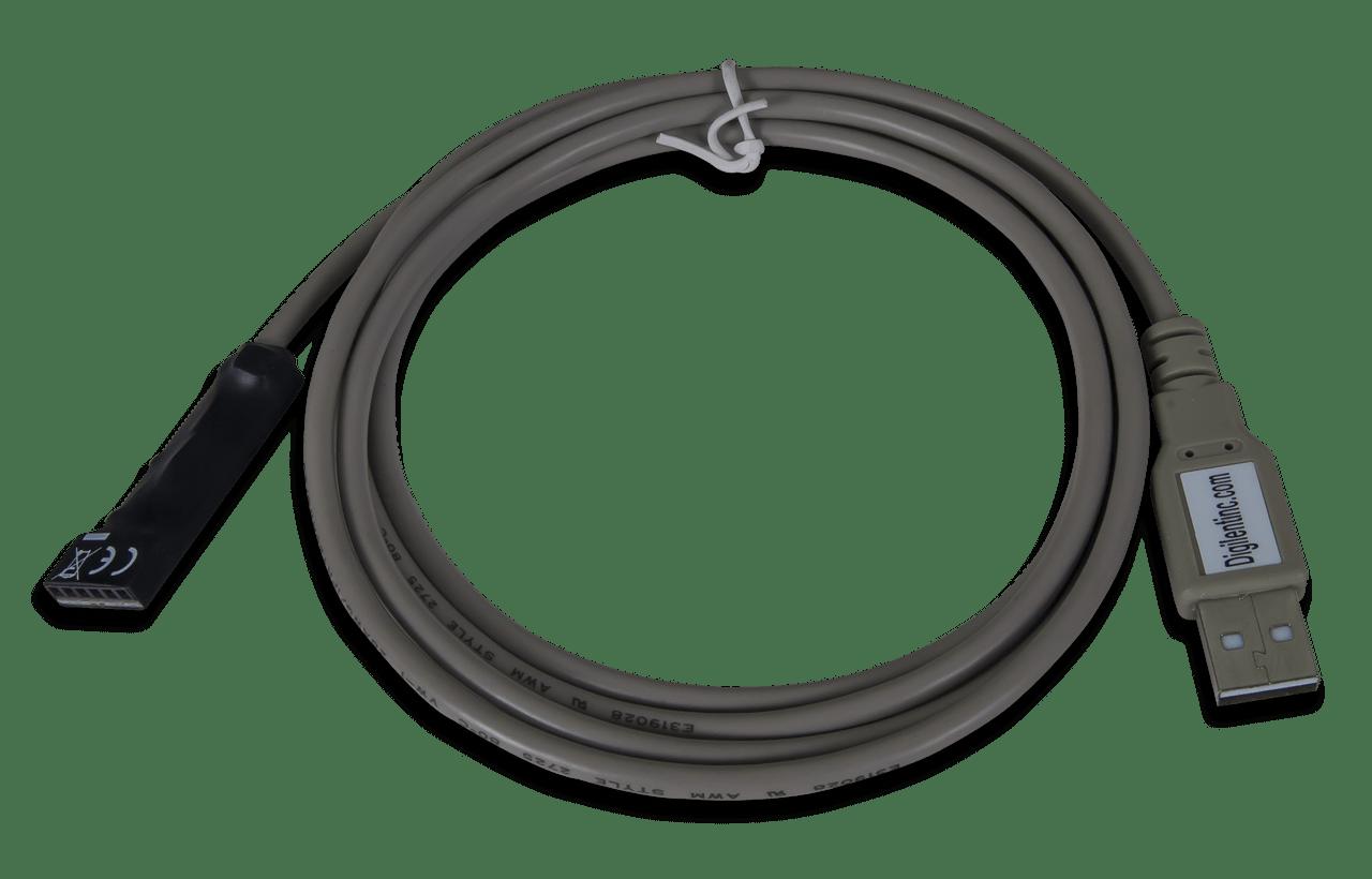DIGILENT USB JTAG DESCARGAR CONTROLADOR