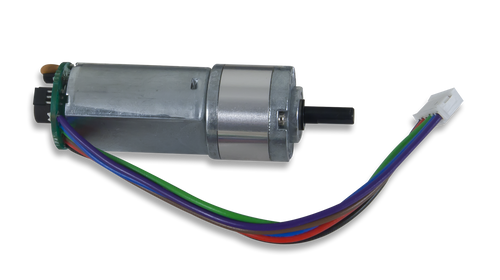 DC Motor/Gearbox: Custom 12V Motor Designed for Digilent Robot Kits product image.