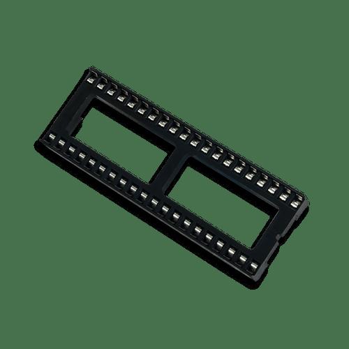 40-pin DIP Socket product images.