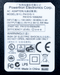 Product image of the label on the top of the 5V 2.5A Switching Power Supply.