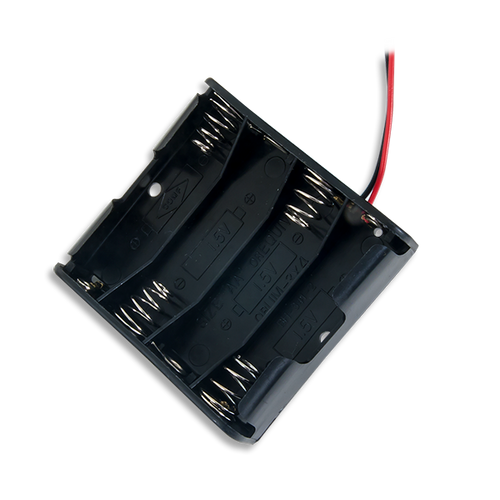 Product image of the empty Battery Holder (4 x AA).
