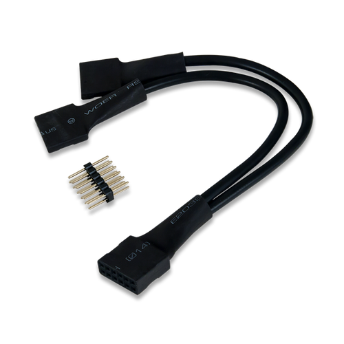 2x6-pin to Dual 6-pin Pmod Splitter Cable product image.