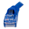 Front view product image of the connection end on the Cat5e Ethernet Cable.
