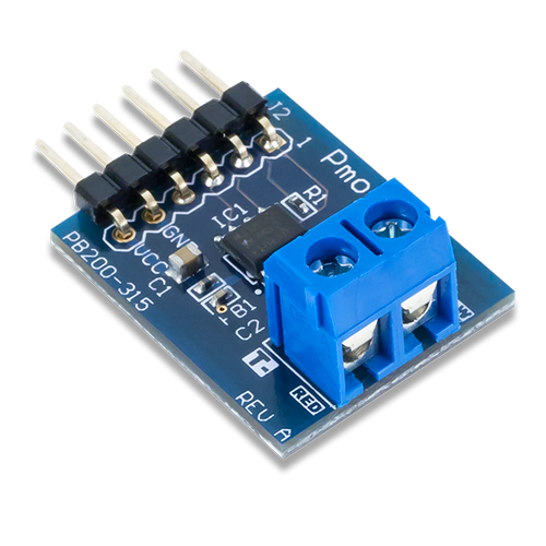 Pmod TC1: K-Type Thermocouple Module product image.