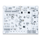 Bottom view product image of the Arty A7: Artix-7 FPGA Development Board for Makers and Hobbyists.