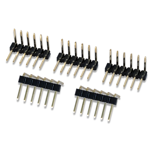 Product image of Pmod Male Right Angle 6-pin Header.
