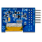 Bottom view product image of the Pmod OLEDrgb: 96 x 64 RGB OLED Display with 16-bit color resolution.