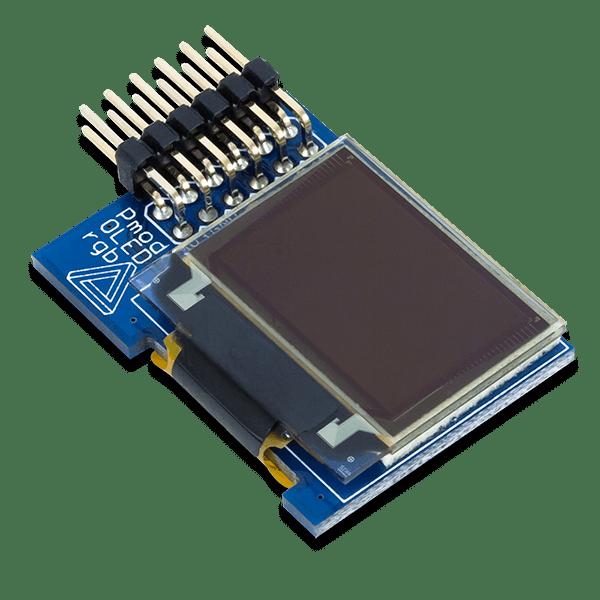 Pmod OLEDrgb │ 16位元解析度 96x64 RGB OLED 顯示器模組
