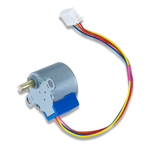 Stepper motor product image.