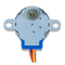 Bottom view product image of the Stepper motor.