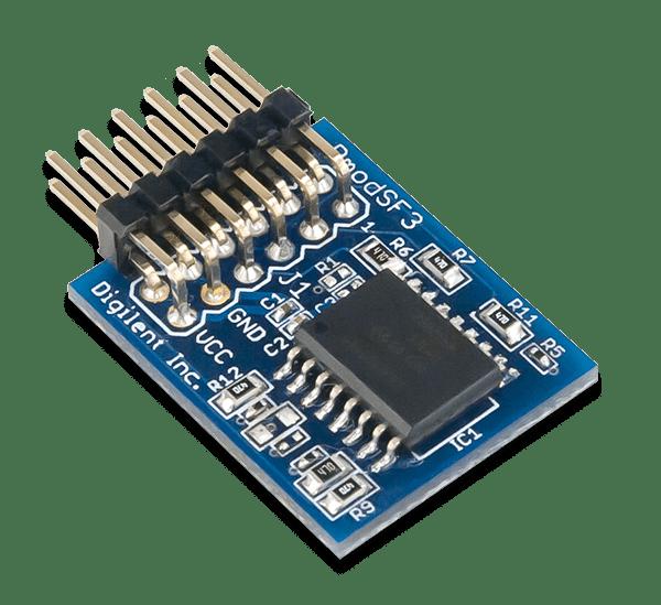 Pmod SF3 │ 32MB串列NOR 快閃記憶體模組