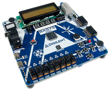 Basys MX3: PIC32MX Trainer Board for Embedded Systems Courses product image.