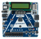 Top view product image of the Basys MX3: PIC32MX Trainer Board for Embedded Systems Courses.