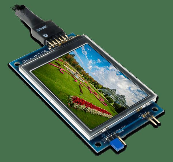 Pmod MTDS │ 多點觸控螢幕模組
