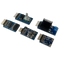 Arty Z7 Pmod Pack product image displaying the included Pmod NAV, Pmod SSR, Pmod RTCC, Pmod TPH2, and the Pmod ENC.