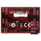 Bottom view product image of the Pmod Shield: Adapter Board for Uno R3 Standard to Pmod.