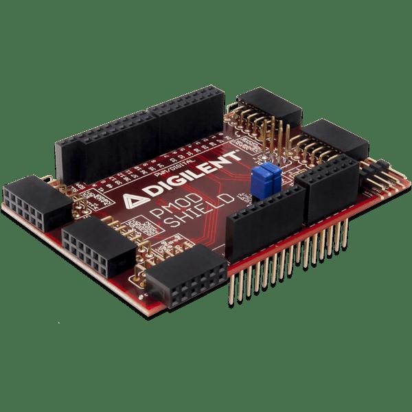 Pmod Shield │ Uno R3 轉 Pmod 轉接板 │ GPIO, SPI, UART, I²C