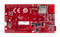 Bottom view product image of the Wi-FIRE: WiFi Enabled PIC32MZ Microcontroller Board.