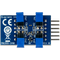Bottom view product image of the Pmod COLOR: Color Sensor Module.