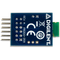 Bottom view product image of the Pmod BLE: Bluetooth Low Energy Interface.