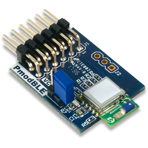 Pmod BLE: Bluetooth Low Energy Interface product image.