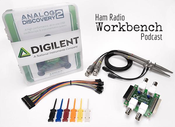ham radio workbench bundle digilentham radio bundle contents product image includes analog discovery 2 kit, bnc adapter board