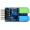 Top view of the Pmod I2S2: Stereo Audio Input and Output.
