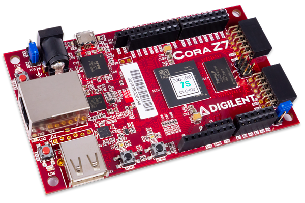 Cora Z7: Zynq-7000 Single Core and Dual Core Options for ARM/FPGA SoC  Development