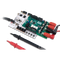 Product image of the DMM Probes plugged in and in use with the DMM Shield and Arty FPGA. DMM Shield and Arty are sold separately.