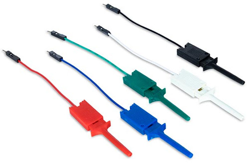 Product image of the Mini Grabber Test Clips with Leads.