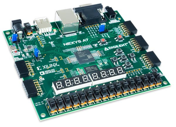 Nexys A7: FPGA Trainer Board Recommended for ECE Curriculum