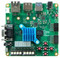 Top view product image of the Trenz Development Board.