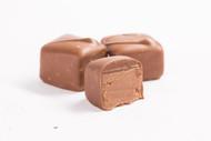 Milk Orange Chocolate Bites, 125 piece bulk bag