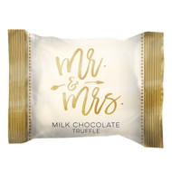 "Wedding ""Mr & Mrs"" in gold wrap, 4 lb. bulk bag"