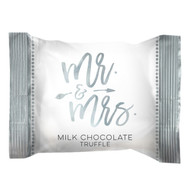 "Wedding ""Mr & Mrs"" in silver wrap, 4lb. bulk bag"
