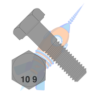 M10 x 30 Din 931 10 Point 9 Metric Partially Threaded Cap Screw Plain