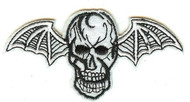 Avenged Sevenfold Iron-On Patch Death Bat Skull