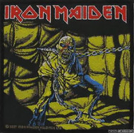 Iron Maiden Sew On Patch Piece Of Mind Logo