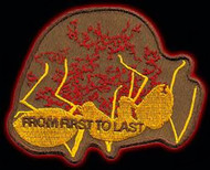 From First To Last Iron-On Patch Ant Logo
