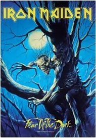 Iron Maiden Poster Flag Fear Of The Dark Tapestry