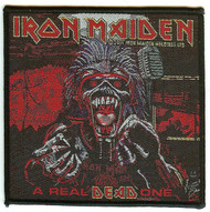 Iron Maiden Sew On Patch A Real Dead One