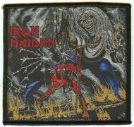 Iron Maiden Sew On Patch Number Of The Beast