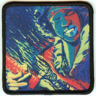 Jimi Hendrix Iron-On Patch Psychedelic