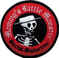 Social Distortion Iron-On Patch Mommy's Little Monster