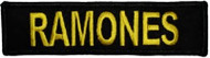 The Ramones Iron-On Patch Yellow Letters Logo
