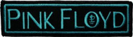 Pink Floyd Iron-On Patch Blue Letters Logo