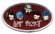 Limp Bizkit Iron-On Patch Oval Logo